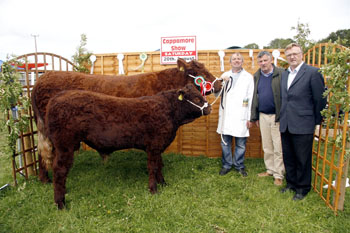 John Keating and the Champion Saler of the Cappamore Show